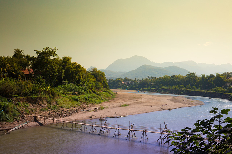 Khan River, Luang Prabang, Laos