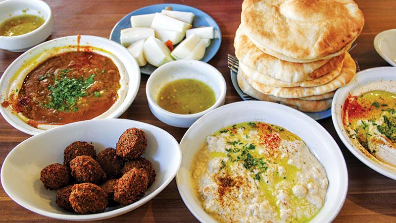 Jaffa, Israel, Israeli food