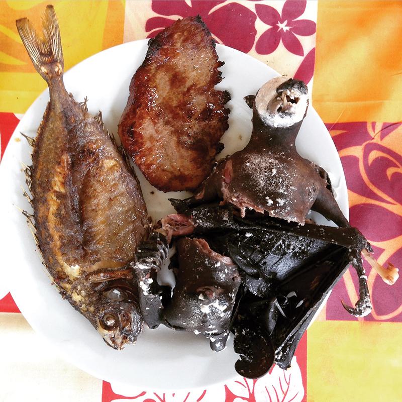 Island food, Mare, Loyalty Islands, New Caledonia