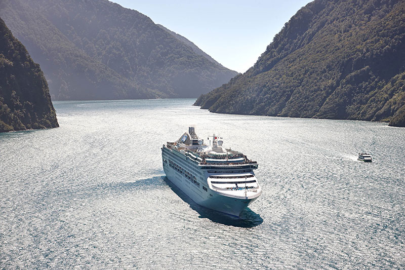 Sea-Princess-in-Fiordland