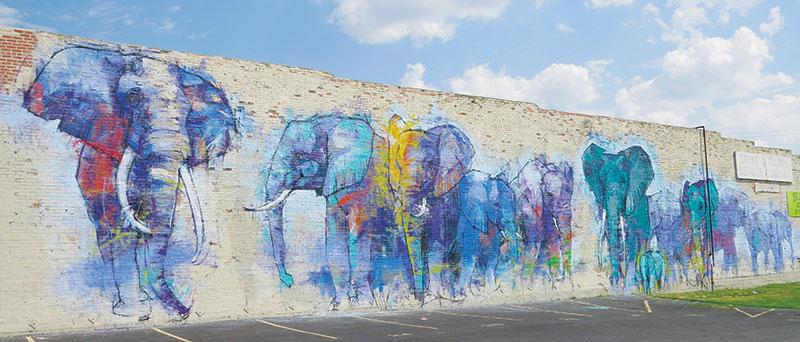 Deep Ellum, Dallas, Texas, the wild west, street art, graffiti