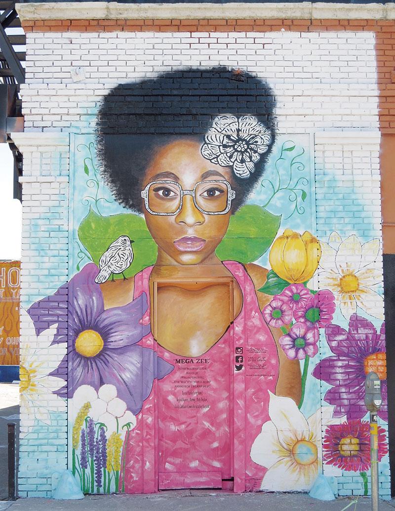 Mega Zee mural, Dallas Fort Worth, Dallas, Texas, street art