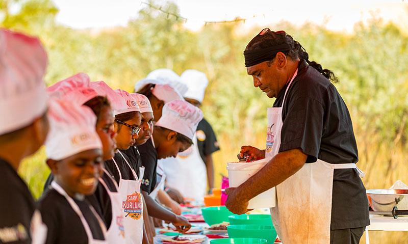 cooking lessons, Krijini, Mark Olive