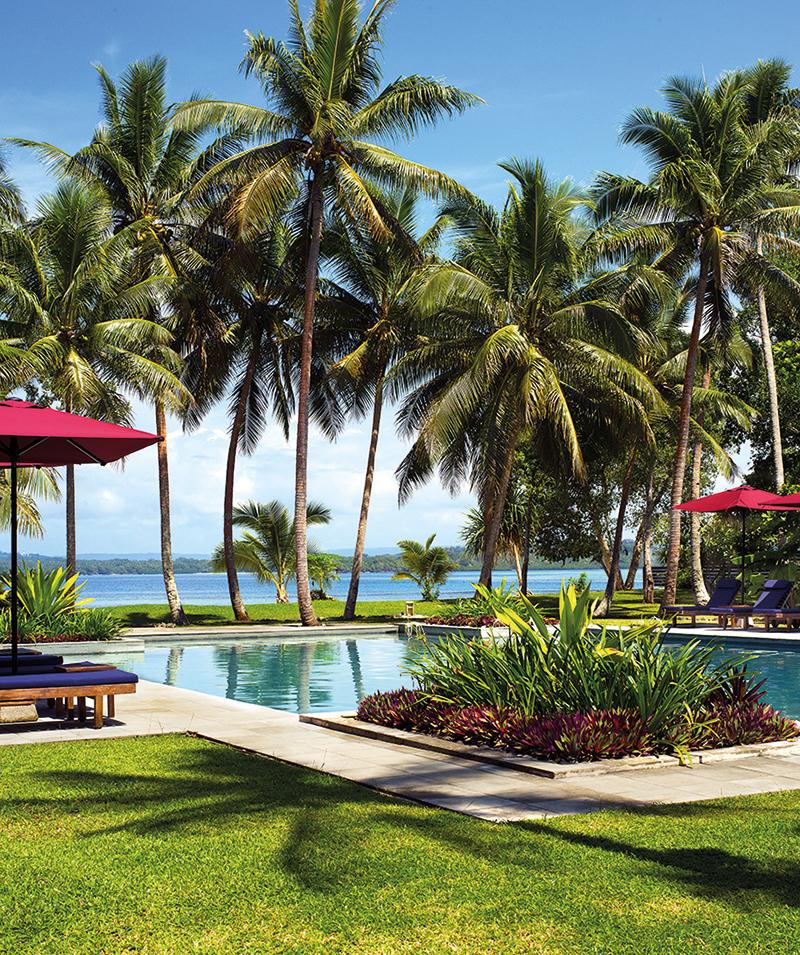 Vanuatu Beaches: Eratap Beach Resort, Vanuatu