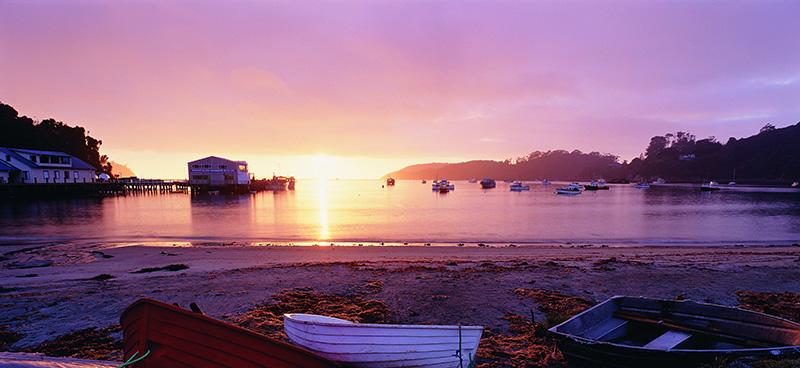 Stewart Island, New Zealand, Halfmoon Bay