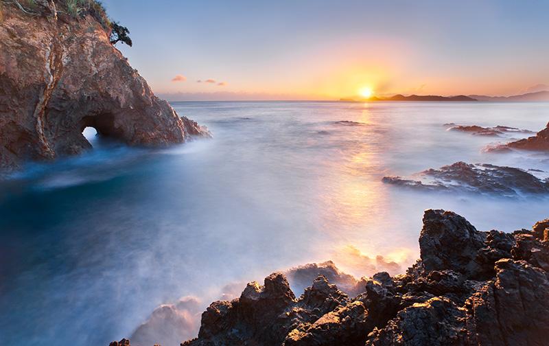 New Zealand, Bay of Islands, Tapeka Point