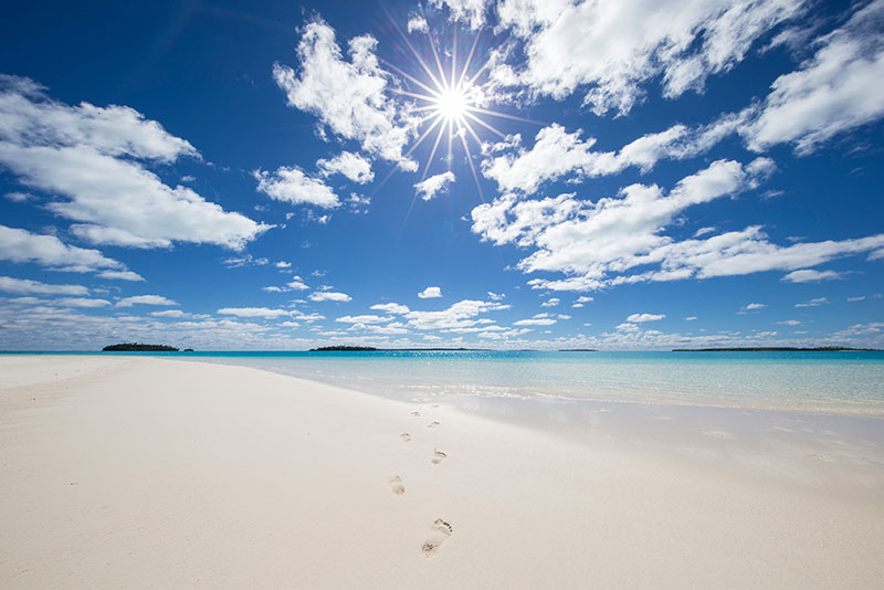 Beach, Cook Islands