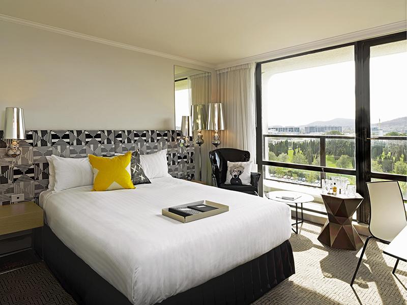 QT Hotel in Canberra