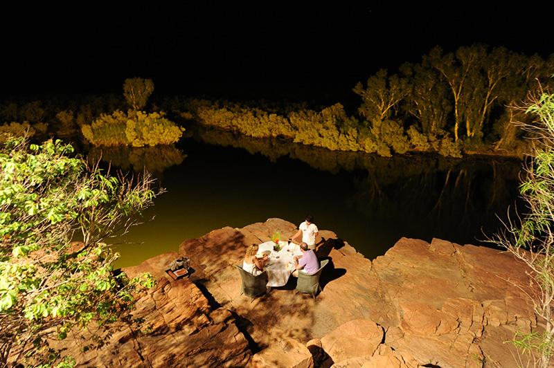 El Questro, dining, Western Australia, luxury