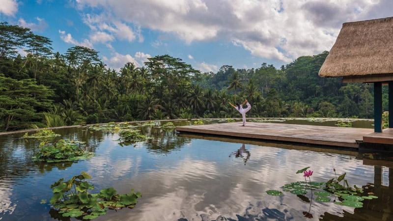 spa, yoga,Four Seasons Resort Bali, Sayan, Ubud