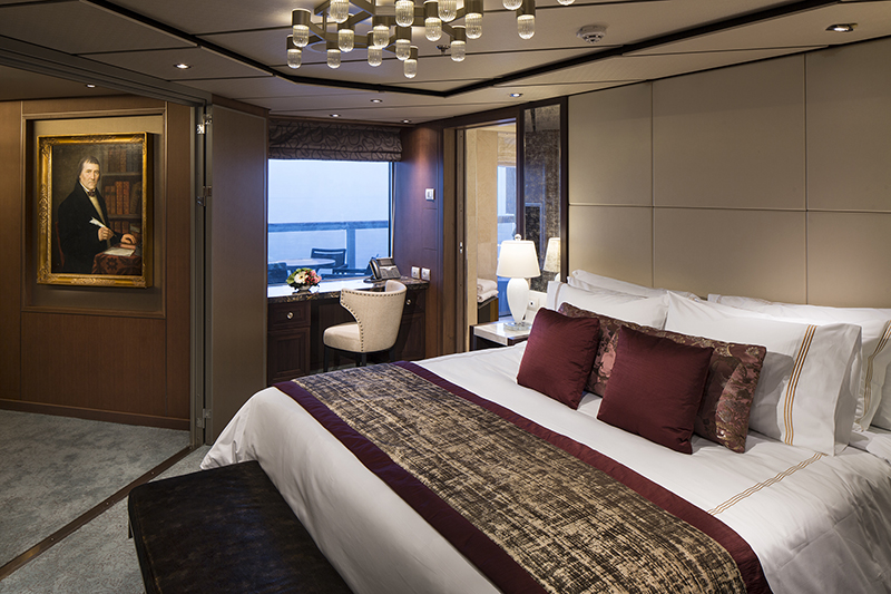 Pinnacle Suite, Holland America Line, Koningsdam, cruising