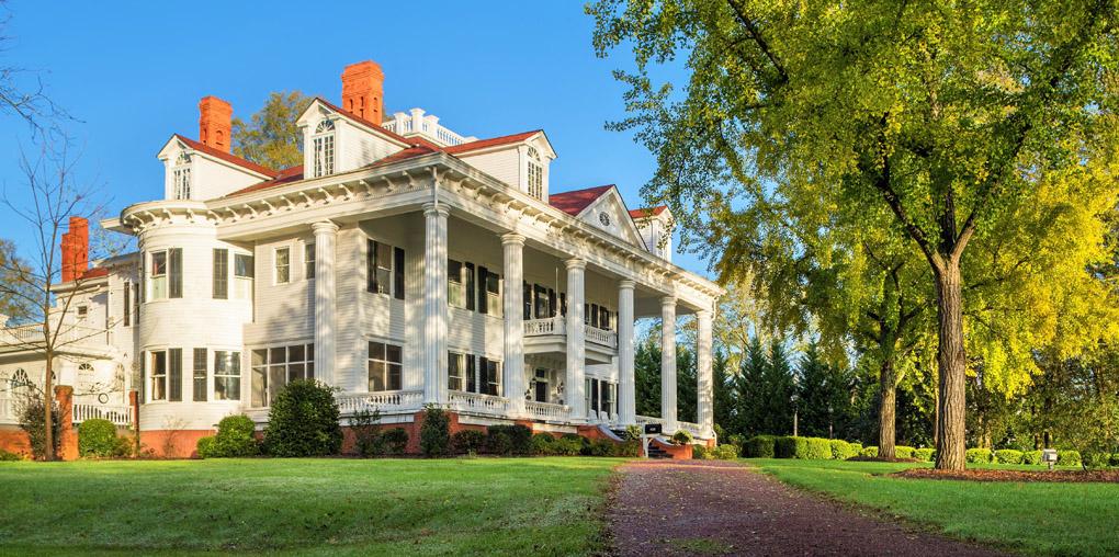 Twelve Oaks, Georgia, Vampire Diaries, Tara, movie mansion