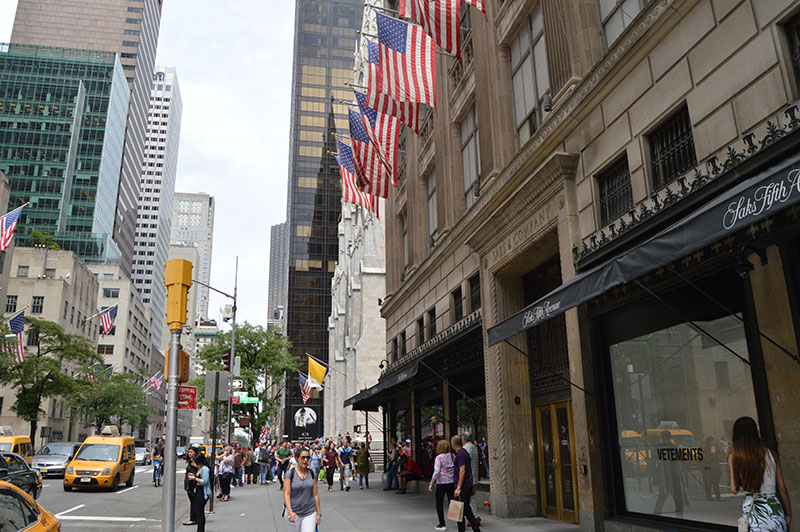 New York City, shopping, 5th Avenue