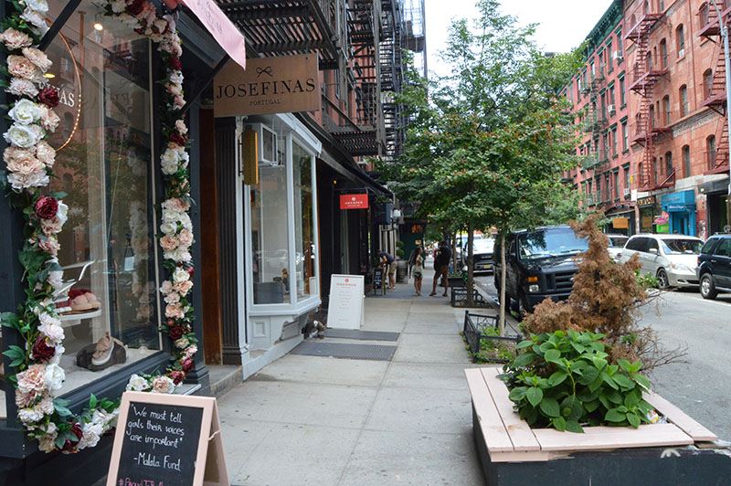 Nolita, New York, shopping, Elizabeth Street