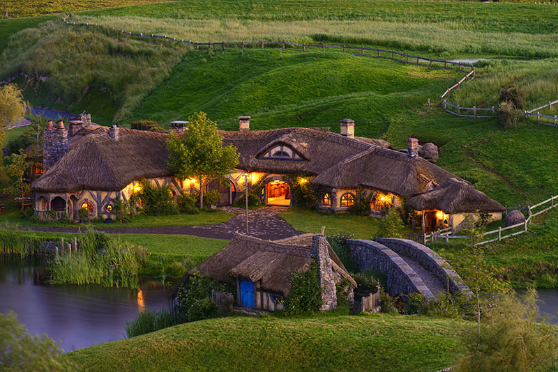 Lights, Hobbiton, New Zealand