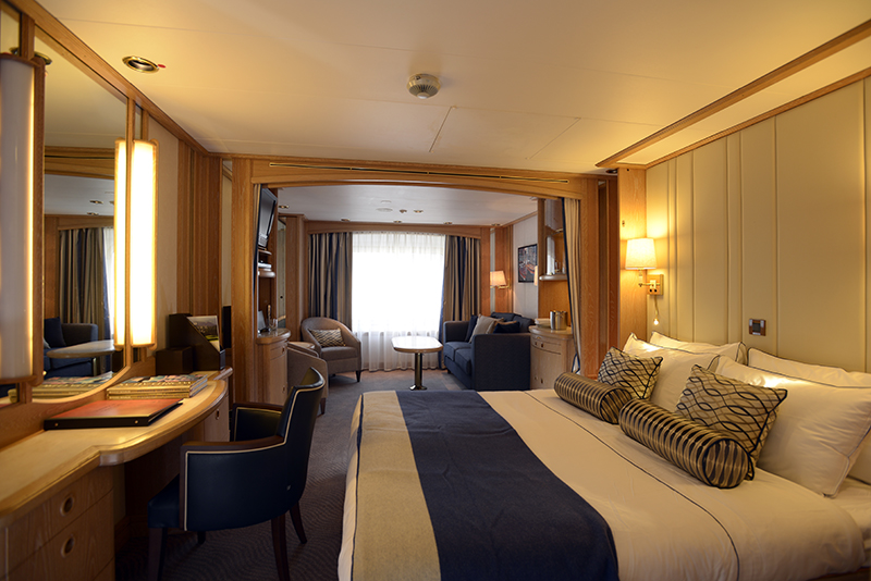 Star Pride's luxurious suite
