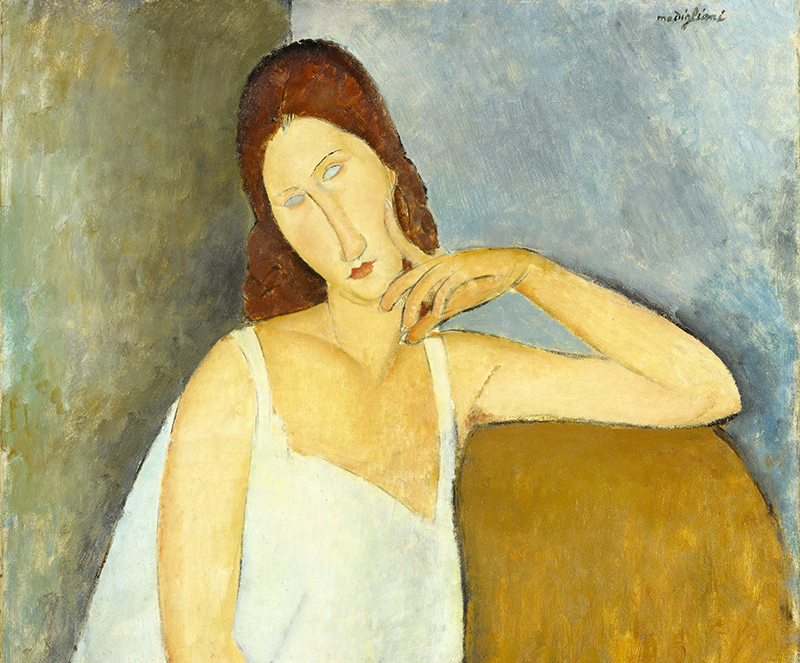 Jeanne Hébuterne, 1919, Modigliani, Tate Modern, London, UK