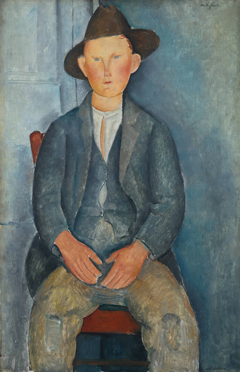 The Little Peasant, Modigliani, Tate Modern, London, UK