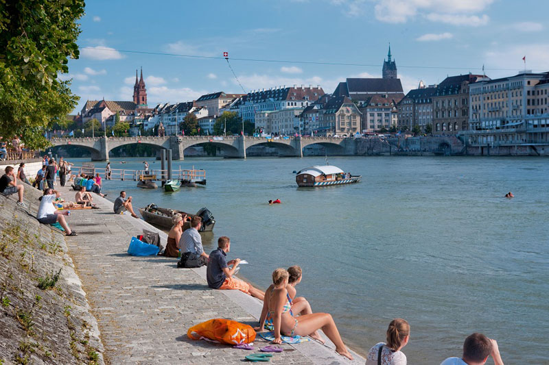 Summer, swimming, Switzerland, Basel, My Switzerland