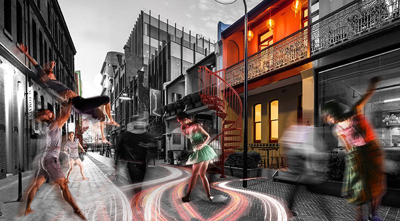 Kensington St, Singapore: Inside Out Sydney