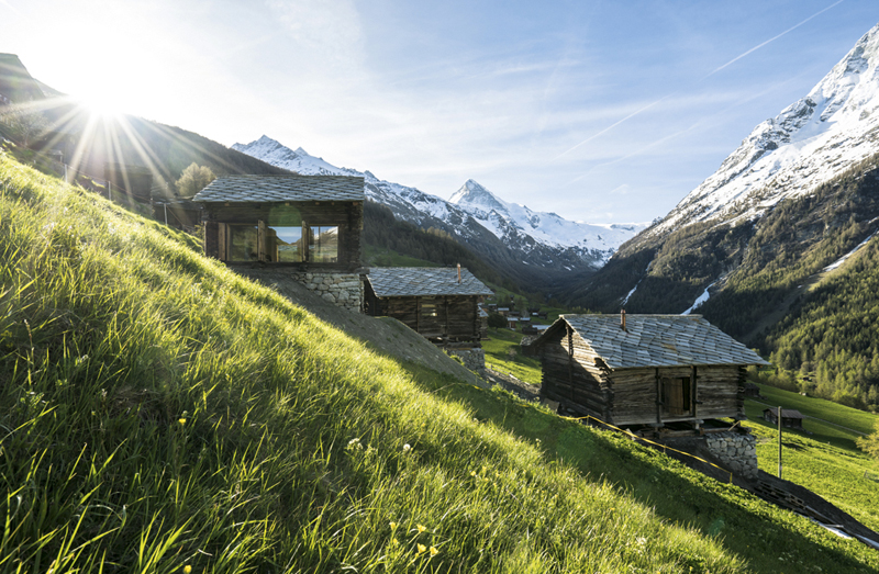 La Forclaz, Switzerland, alpine hut, My Switzerland