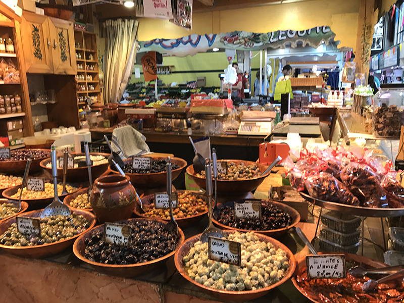 French market Narbonne, Narbonne, France