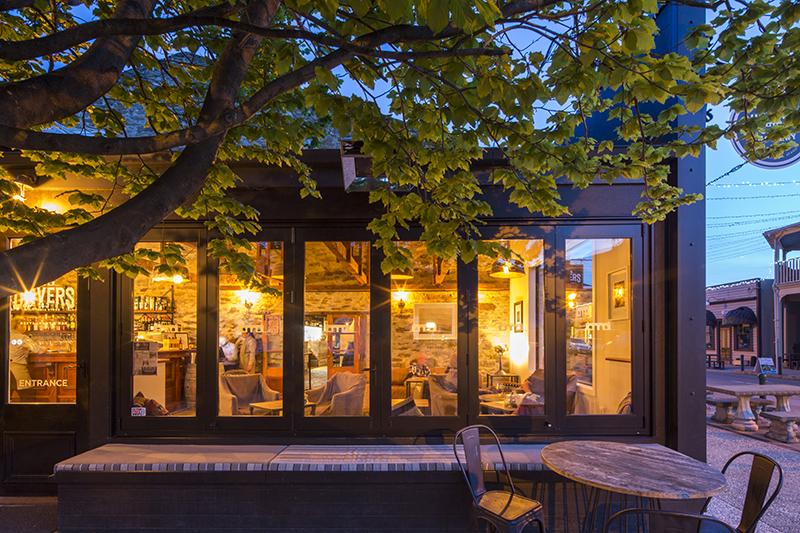 Olivers Bar and Restaurant, Olivers Lodge and Stables, Clyde, Central Otago, New Zealand