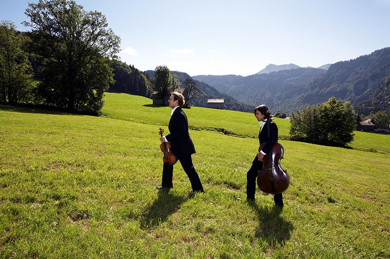 Austria Bregenzerwald, music, alps