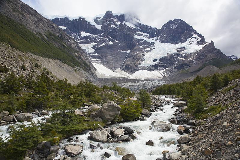 Pride hanging glacier, Chile