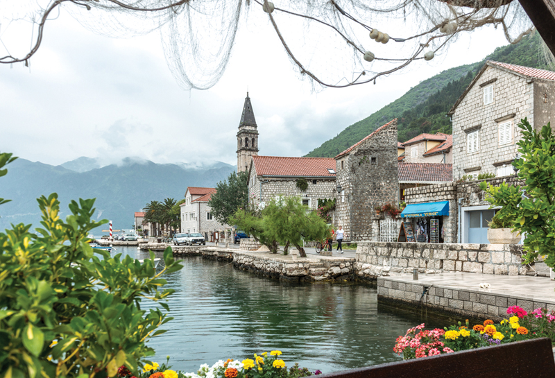 Village of Perast, Montenegro, Europe