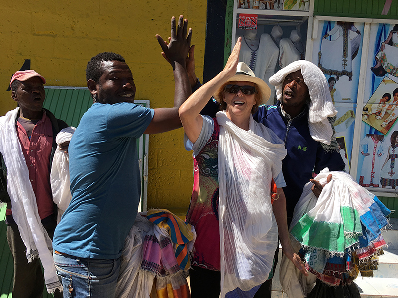 Ethiopia, souvenirs, Pamela Wright