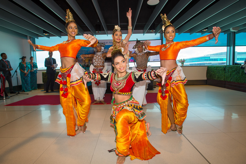 SriLankan Airways, Melbourne Airport, SriLankan culture