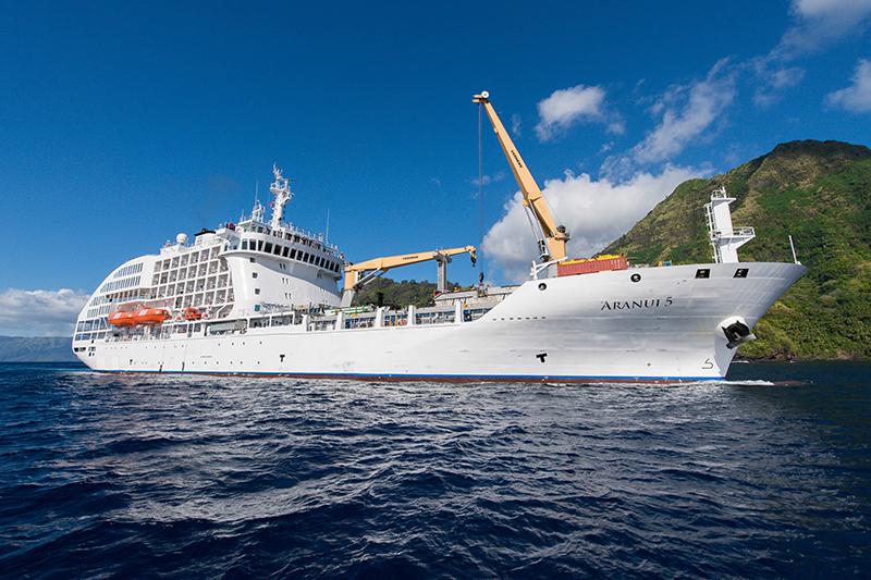Aranui 5, Pitcairn, cruises