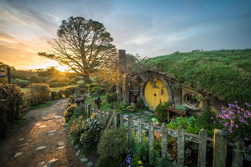 Hobbiton, New Zealand, The Hobbit, Lord of the rings