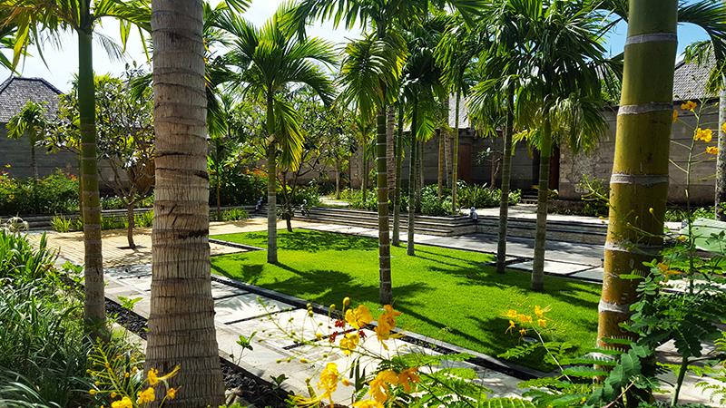 Villa courtyard, Hotel Indigo, Bali, Seminyak