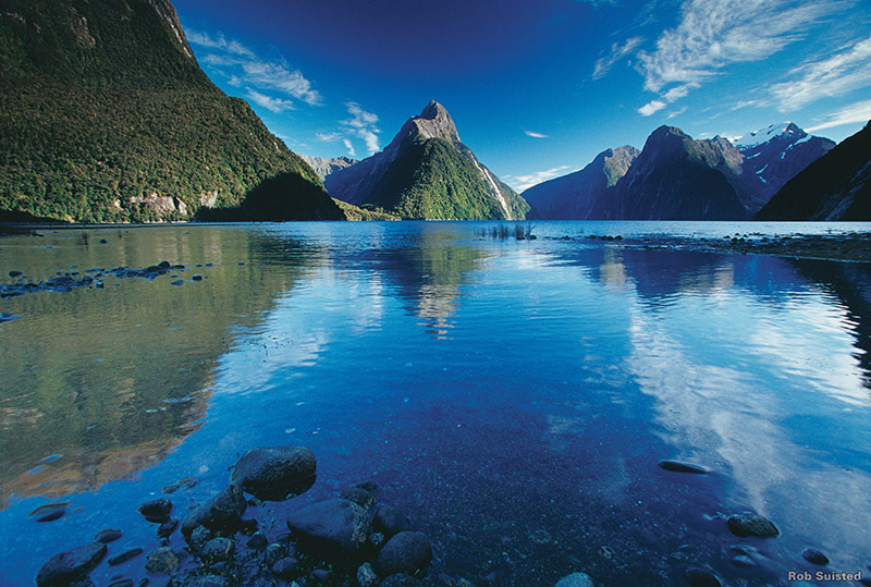 Milford Sound, Fiordland's National Park, New Zealand