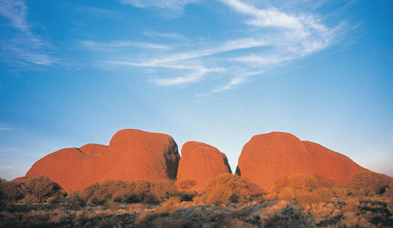 The Olgas, Kata Tjuta National Park, Northern Territory, Australia