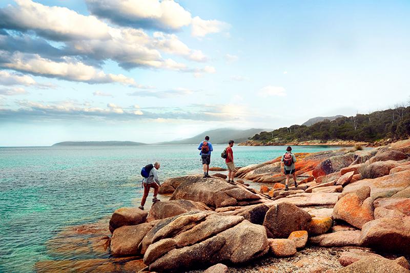 Great Walks of Australia, Schouten Island, Freycinet Experience Walk, Butterfield & Robinson