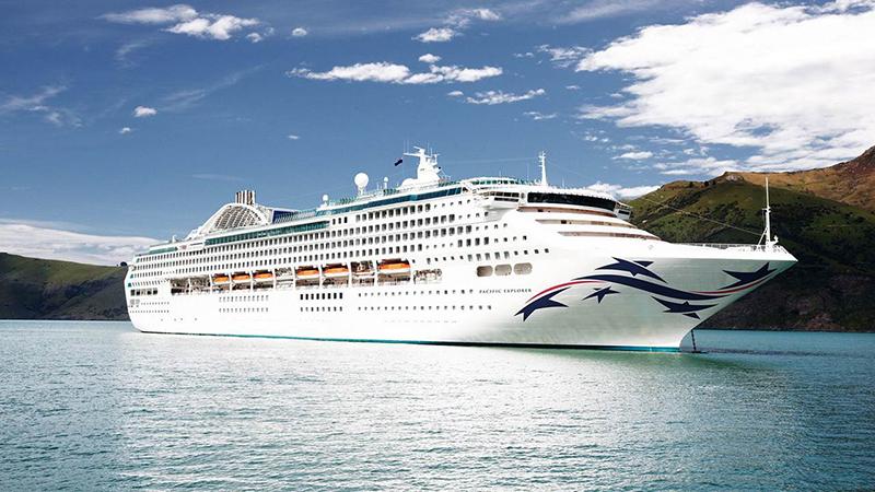 Pacific Explorer, P&O Cruises
