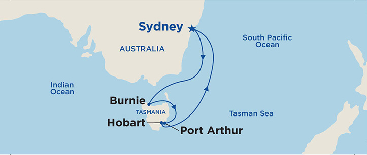 Sun Princess, Cruise, Sydney to Tasmania