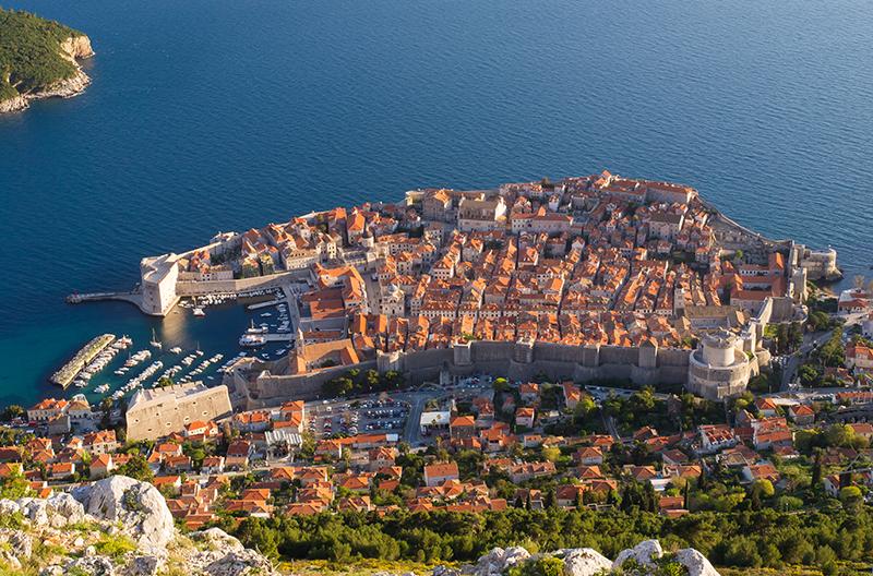 Dubrovnik, Croatia, Katarina Line