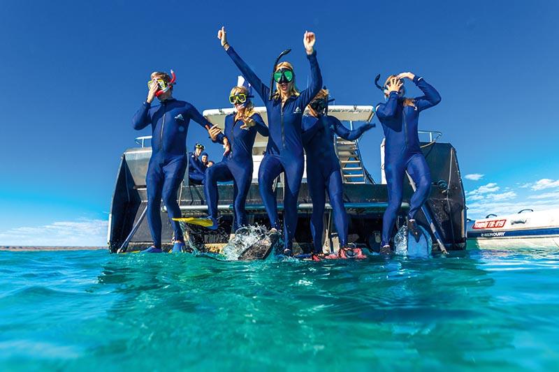 Snorkelling, Ningaloo Marine Park, Western Australia