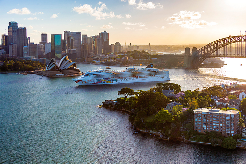 Norwegian Jewel, Norwegian Cruise Lines, Sydney