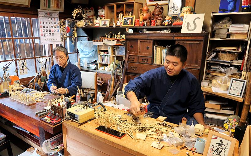 bamboo artisans, Tokushima, Japan