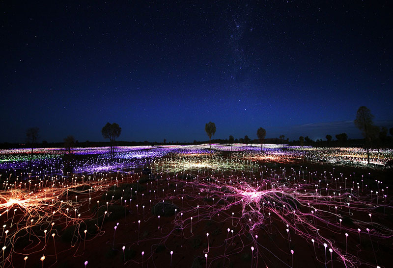 Field of Light Uluru, Ayers Rock Resort