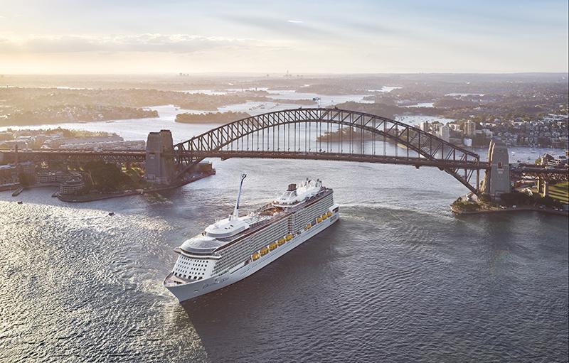 hide and seek, cruise, Sydney Harbour Bridge