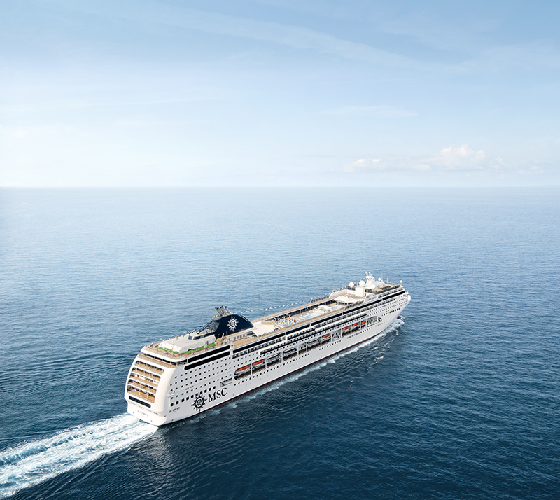 MSC Cruises, cruises, India