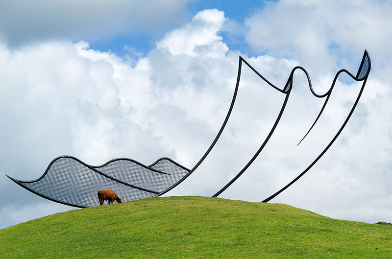 Art, Kauri Cliffs, New Zealand