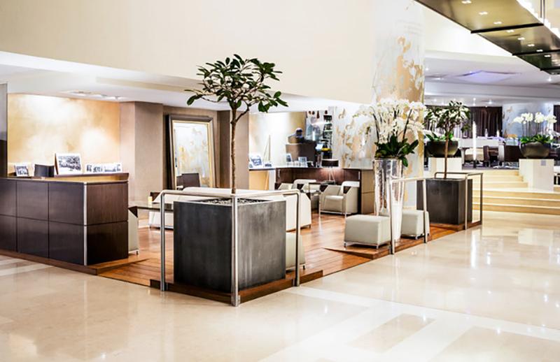 Novotel Paris Les Halles, lobby, Paris