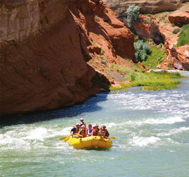 White water rafting, Wyoming